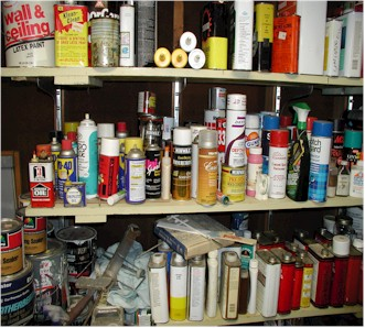 some chemicals around the home