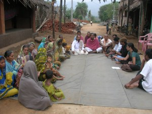 Tangisahi Village meeting