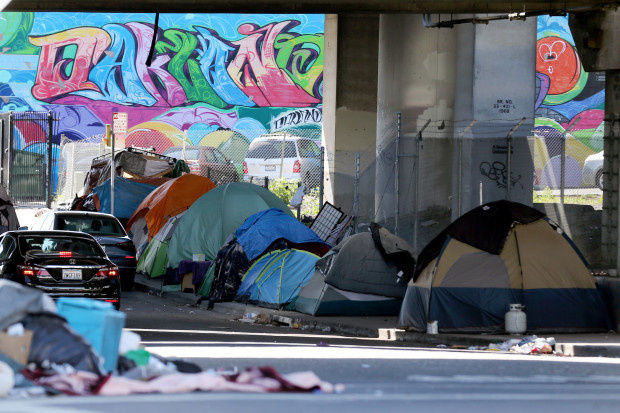 Oakland homeless encampments